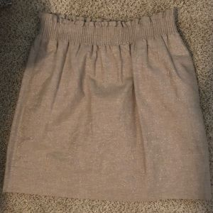 J Crew Sparkly skirt with pockets!